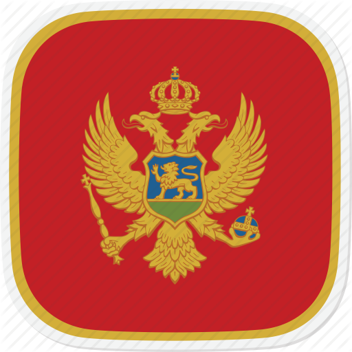 Flag, Me, Montenegro Icon