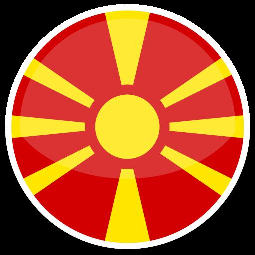 Macedonia Icon Round World Flags Iconset Custom Icon Design