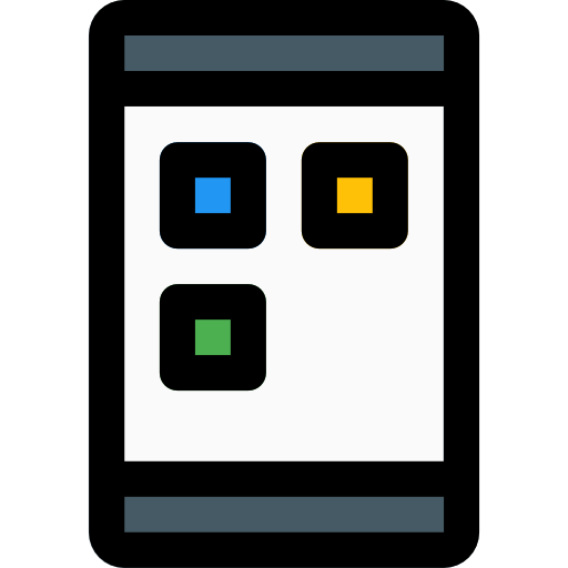 Mobile Application Icon Mobile Pixel Perfect