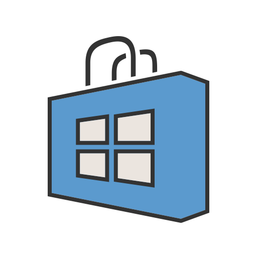 Windows, Apps, Mobile, Application, Appstore, Company, Technology Icon