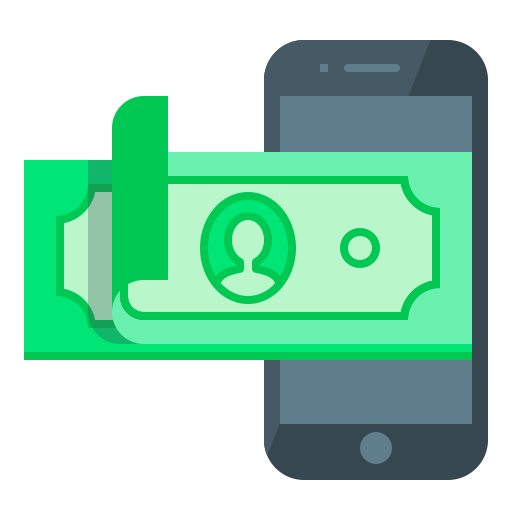 Mobile, Smartphone, M Banking, Mobile Banking, Replenishment Icon
