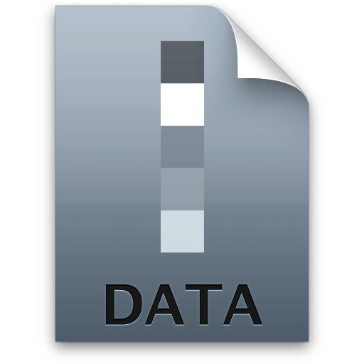 Adobe Lightroom Data Icon