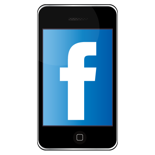 Facebook Mobile Icon Free Icons