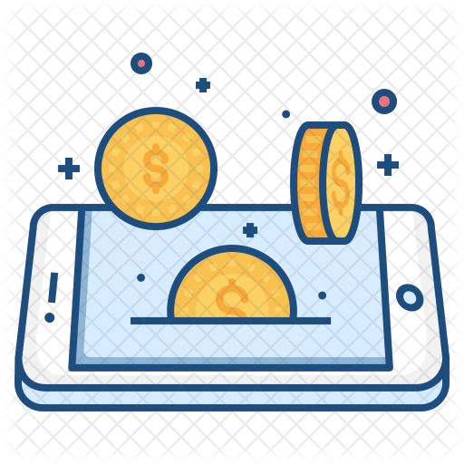 Mobile, Concept, Coin, Dollar, Currency, Money, Finance