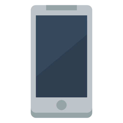 Device Mobile Phone Icon Small Flat Iconset Paomedia