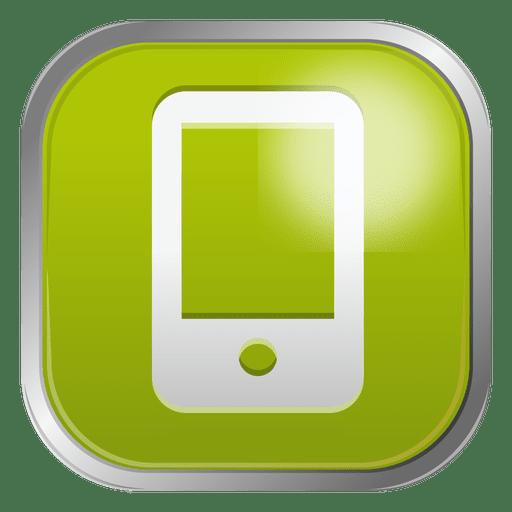 Green Mobile Icon