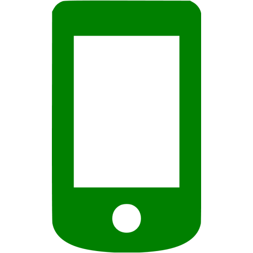 Green Mobile Phone Icon
