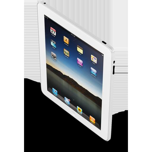 Ipad New White Icon