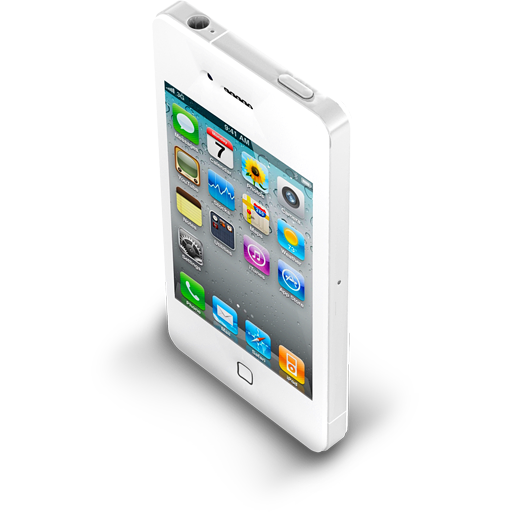 Iphone White Icon Apple Mobile Iconset Archigraphs