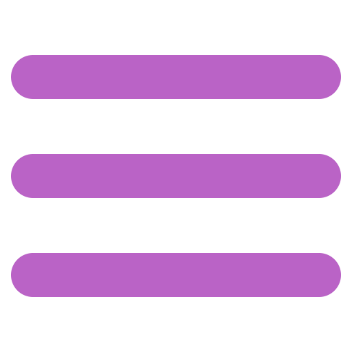 List, Text, Menu, Numbers, String, Burger Icon Free Of Bold Purple