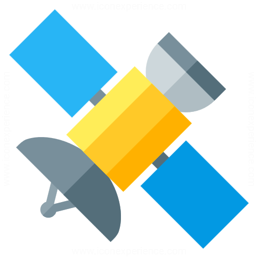 Iconexperience G Collection Satellite Icon