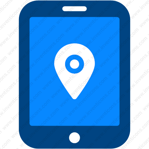 Download Navigation,locate,pin,location,tablet Icon Inventicons