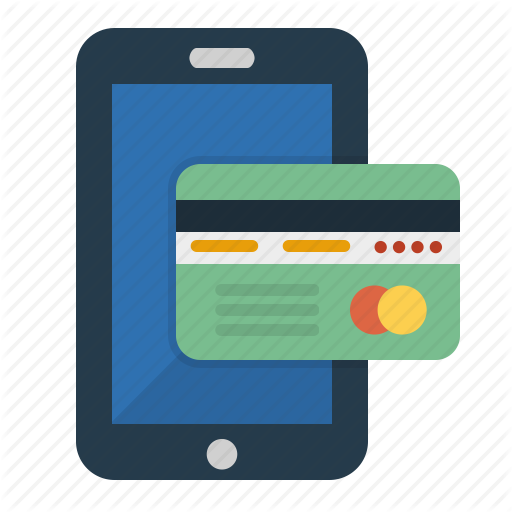 Credit Cards, Mobile, Mobile Payment, Online Peyment Icon