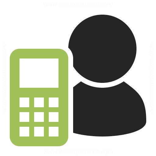 User Mobilephone Icon Iconexperience