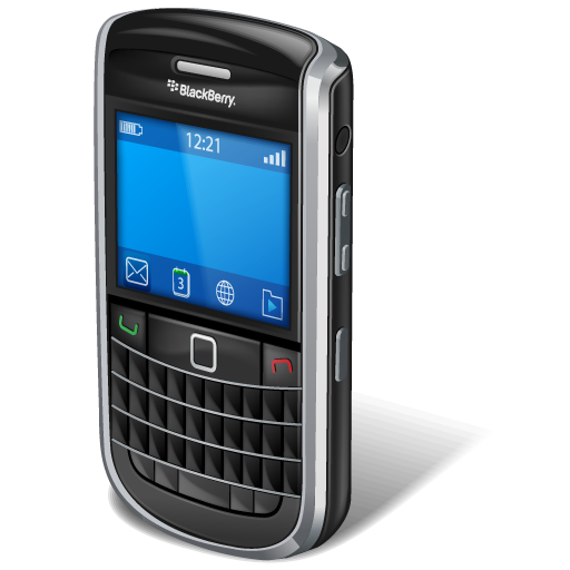 Blackberry Bold Icons, Free Icons In Mobile Phone