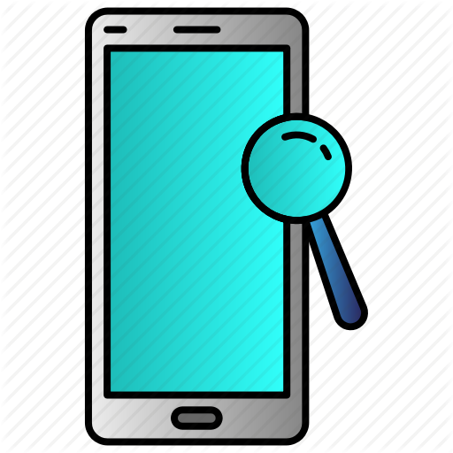 Browse, Mobile, Phone, Search Icon