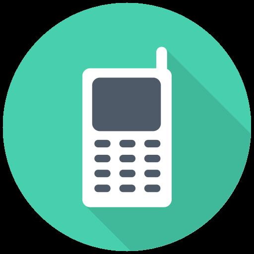 Mobile Icon Free Flat Multimedia Iconset Designbolts
