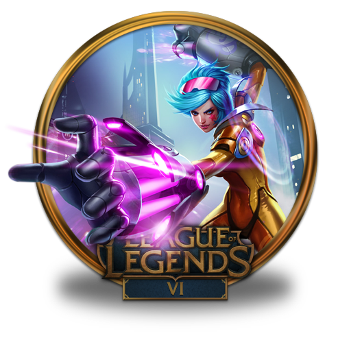 Vi Neon Strike Icon League Of Legends Gold Border Iconset