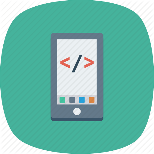 Coding, Html, Mobile, Online, Smartphone, Website Icon