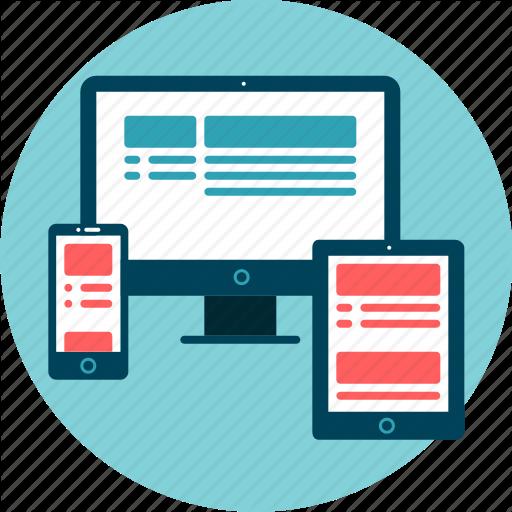 Desktop, Devices, Mobile, Responsive, Tablet, Website Icon