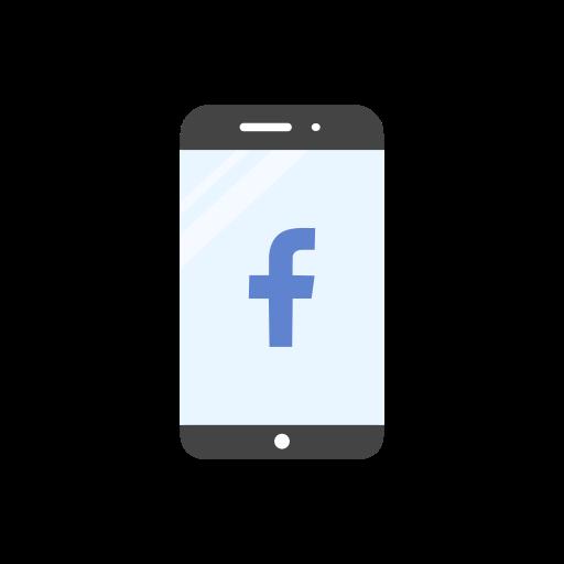 Mobile, Facebook, Website, Facebook Logo Icon