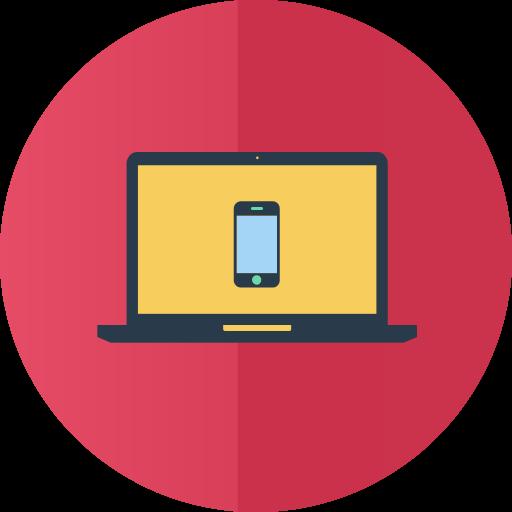 Responsive Web Icon Services Flat Iconset