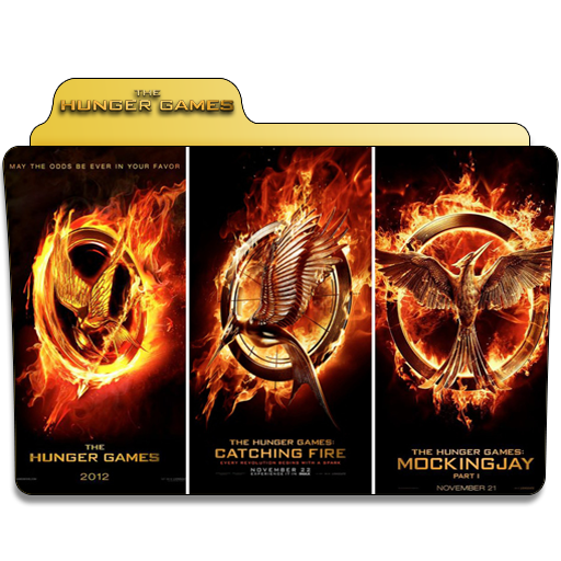 Hunger Games Collection Folder Icon
