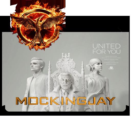 Hunger Games Mockingjay Folder Icon