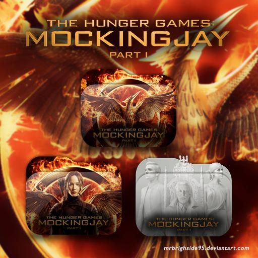 Mockingjay Part Folder Icon Pack