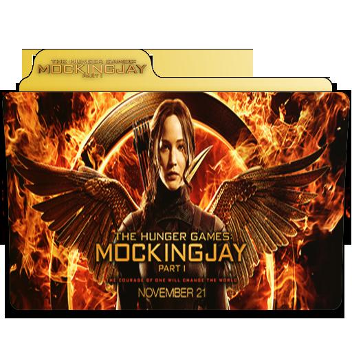 The Hunger Games Mockingjay Folder Icon