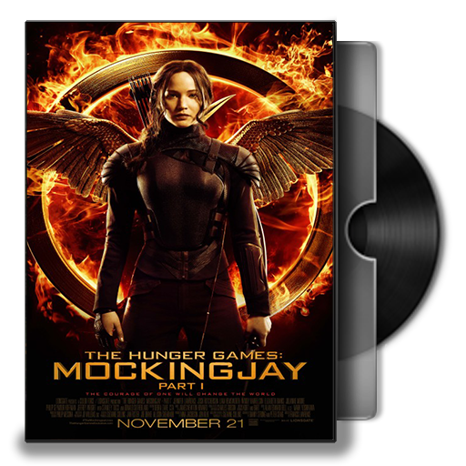The Hunger Games Mockingjay Part Dvd Cover Icon