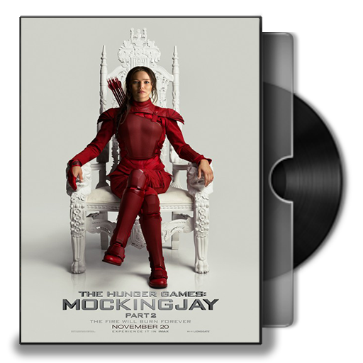 The Hunger Games Mockingjay Cover Icon
