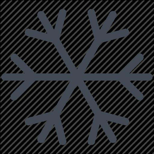 Car Indicator, Dashboard, Snowflake, Winter, Winter Mode Icon