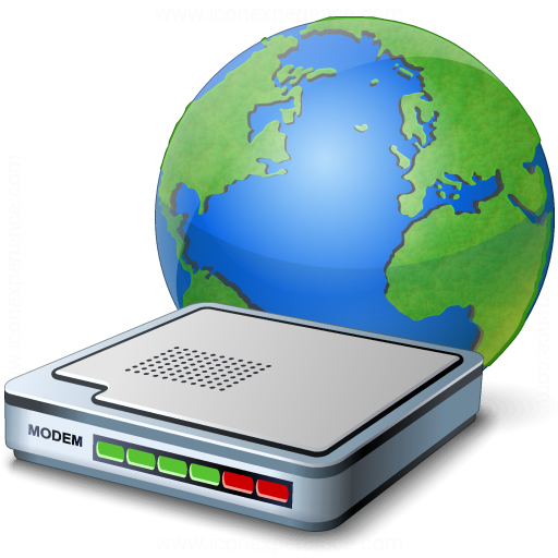 Iconexperience V Collection Modem Earth Icon
