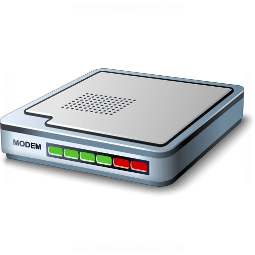 Iconexperience V Collection Modem Icon