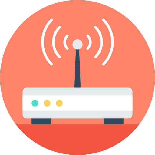 Modem Icon Web And Networking Vectors Market
