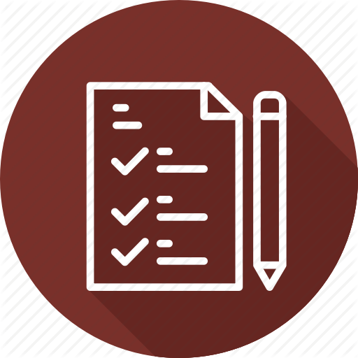 Business, Features, List, Modern Icon