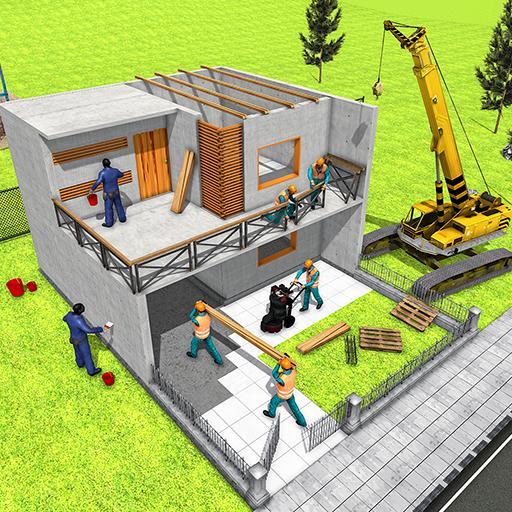 Modern Home Design House Construction Games Apk Latest