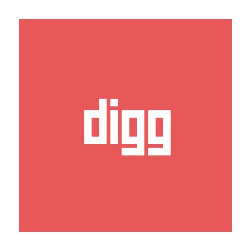 Social Media Circular Flat Icon