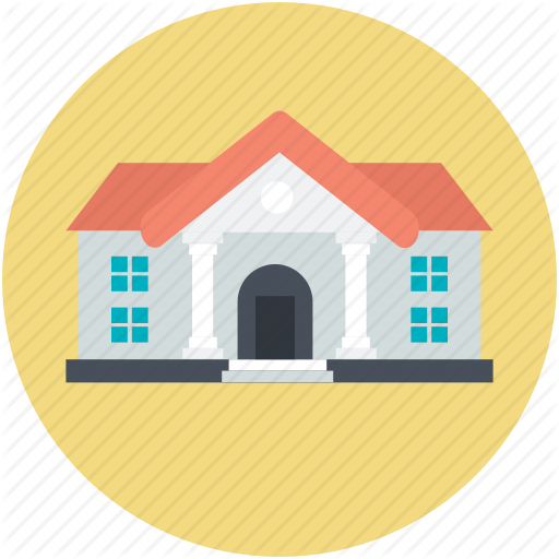 Guest House, Large Home, Modern House, Residence Icon