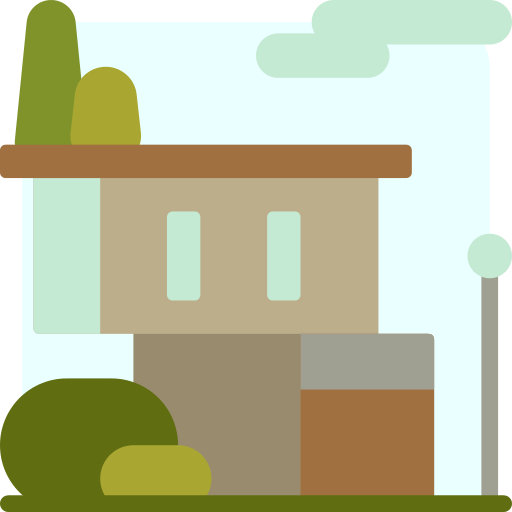 Modern House Png Icon