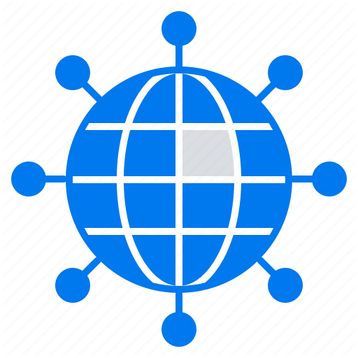 Business, Connections, Global, Modern Icon