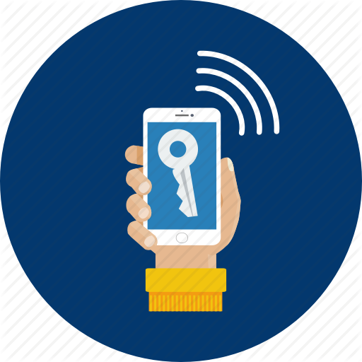 Design, Internet, Key, Mobile, Modern, Password, Technology Icon