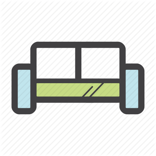Apartment, Chair, Couch, Furniture, Home, Interior, Sofa Icon