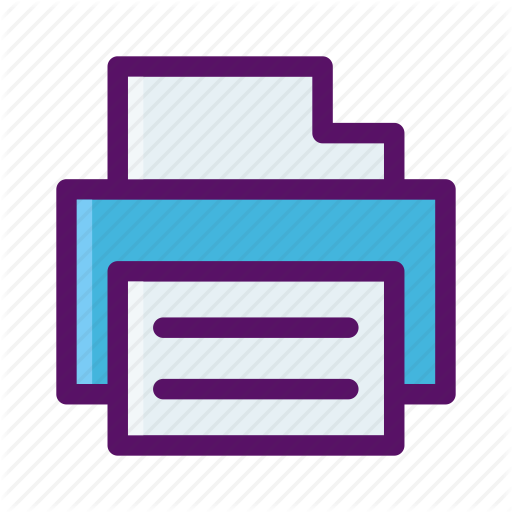 Copy, Fax, Print, Printer, Send Icon