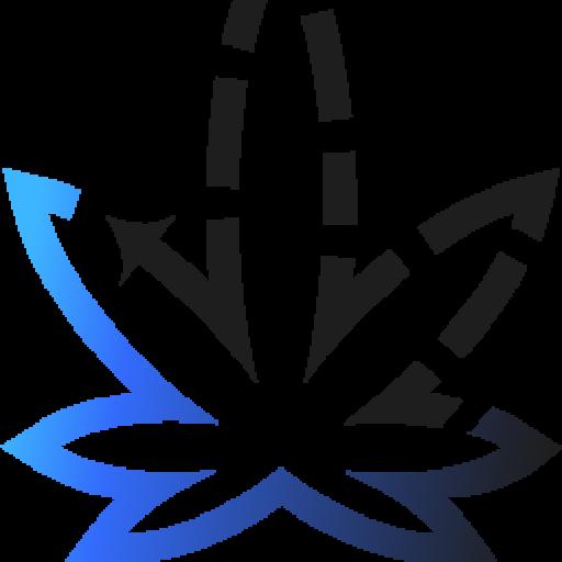 Cropped Logo Icon Marijuana Delivered