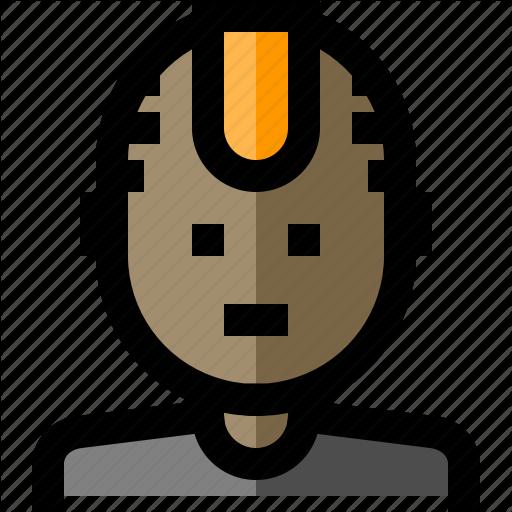 Avatar, Human, Man, Mohawk Icon
