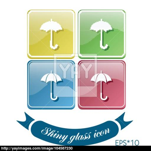 Umbrella Symbol Umbrella Protection From Rain And Moisture