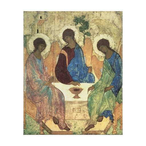 The Holy Trinity, Canvas Print Arts Entertainment