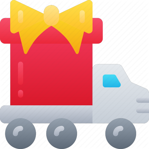 Black Friday, Cyber Monday, Delivery, Gift, Present, Sales Icon